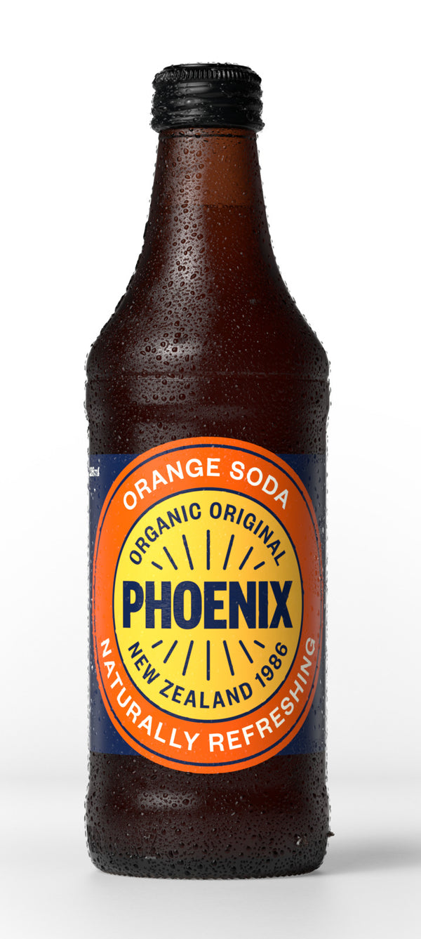 Phoenix Organic: Orange Soda - 328ml (15-Pack)