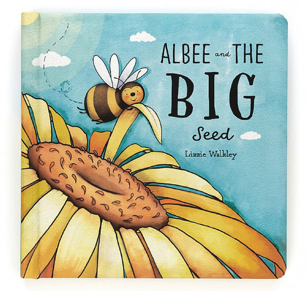 Jellycat: Albee & The Big Seed - Baby Book