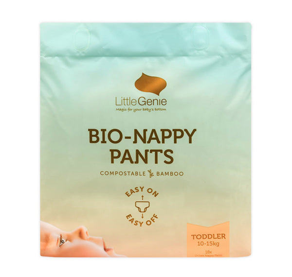 Little Genie: Bio Nappy Pants - 10-15kgs Toddler Bulk Carton (108)
