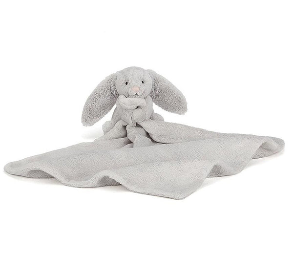 Jellycat: Bashful - Silver Bunny Soother