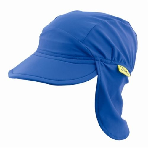 Banz Carewear: Blue Flap Sunhat - Large (4-8 years)
