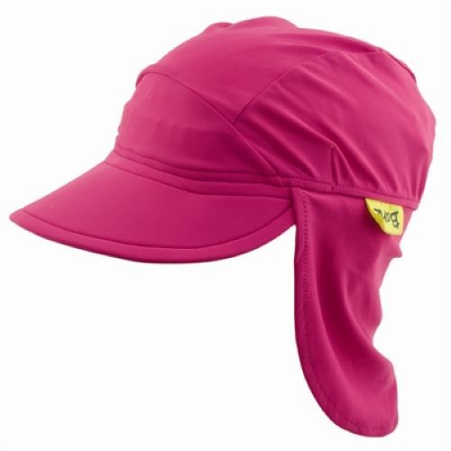 Banz Carewear: Pink Flap Sunhat - Large (4-8 years)
