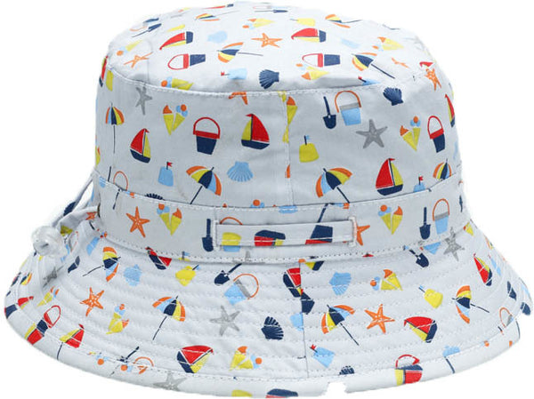 Banz Carewear: Bucket Sunhat - Seaside (4-6 years)