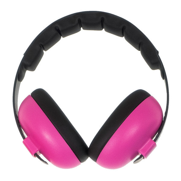 Banz Carewear: Baby Earmuffs - Magenta (0-2 years)
