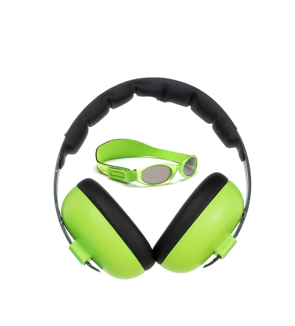 Banz Carewear: Lime Green Protection Set (Under 2 years)