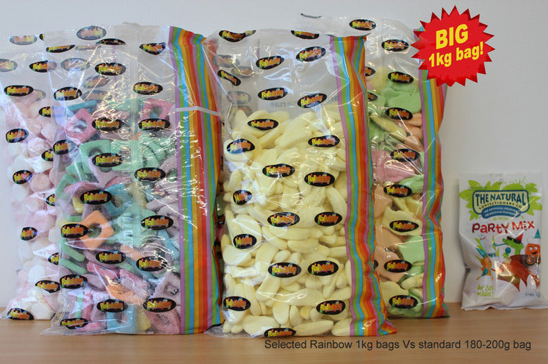 Kandy Bananas 1kg - Rainbow Confectionery