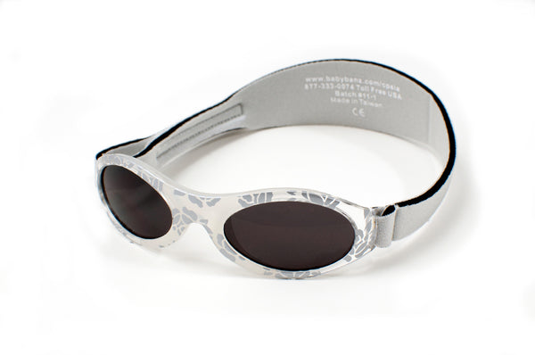 Banz Adventure Sunglasses - Silver Leaf
