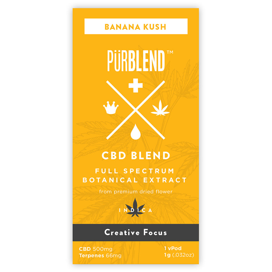 Banana Kush, 500mg Dry Flower Full Spectrum CBD Hemp Oil
