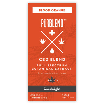 Blood Orange, 500mg Dry Flower Full Spectrum CBD Hemp Oil