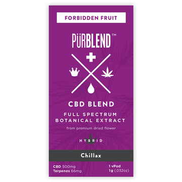Forbidden Fruit, 500mg Dry Flower Full Spectrum CBD Hemp Oil