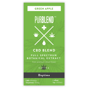Green Apple, 500mg Dry Flower Full Spectrum CBD Hemp Oil