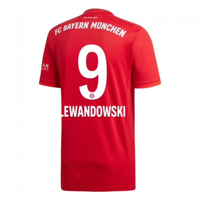 adidas Lewandoski 2019-20 Bayern Munich Home Jersey - YOUTH