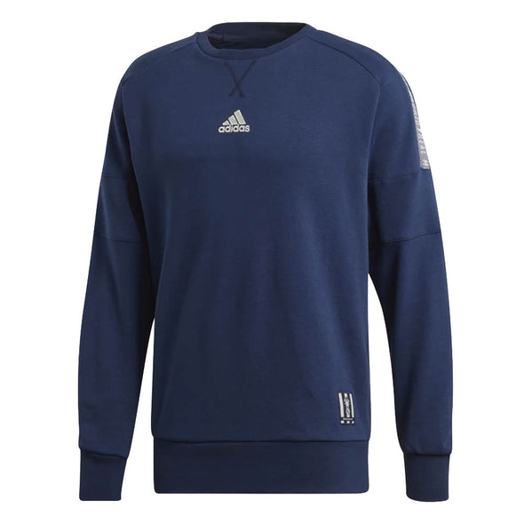 adidas Real Madrid Crew Neck Sweatshirt - MENS