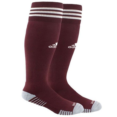 adidas Copa Zone Cushion IV Socks - Maroon/White