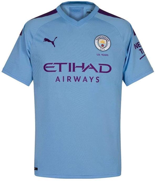 Puma Kevin De Bruyne 2019-20 Manchester City Home Jersey - YOUTH