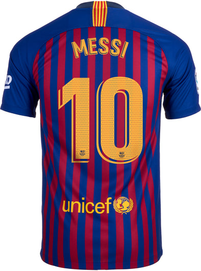 Nike Messi 2018-19 FC Barcelona Home Jersey - MENS