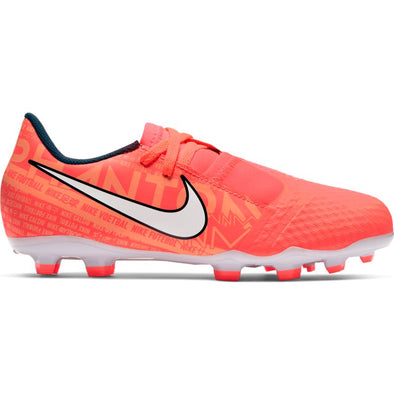 Nike Jr. Phantom Venom Academy FG (BRIGHT MANGO/WHITE-ORANGE PULSE)