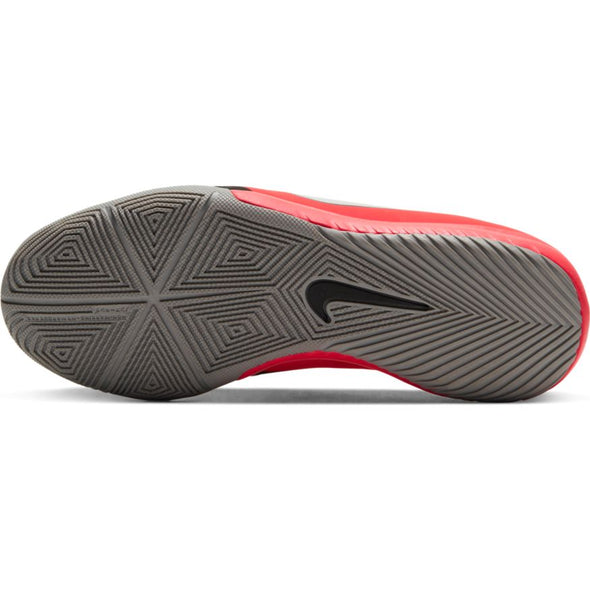 Nike Jr. Phantom Venom Academy IC (LASER CRIMSON/METALLIC SILVER-BLACK)