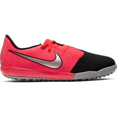 Nike Jr. Phantom Venom Academy TF (LASER CRIMSON/METALLIC SILVER-BLACK)