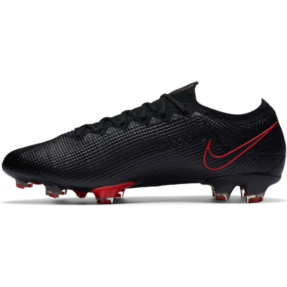 Nike Mercurial Vapor 13 Elite FG - Black- ChilRed-SmokeGrey