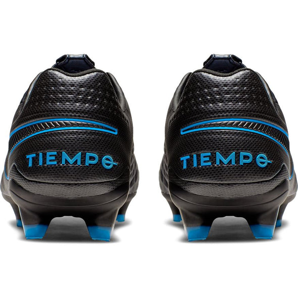 Nike Tiempo Legend 8 Pro FG (BLACK/BLACK-BLUE HERO)