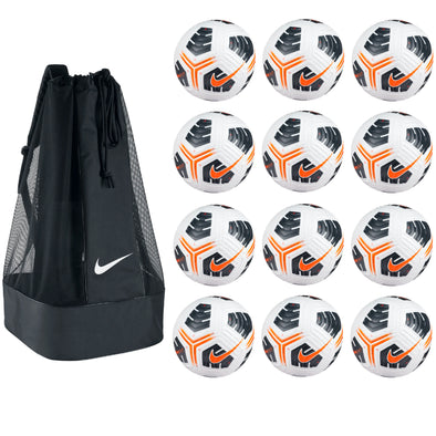 Nike Academy Pro Soccer Ball Pack - White / Black / Total Orange