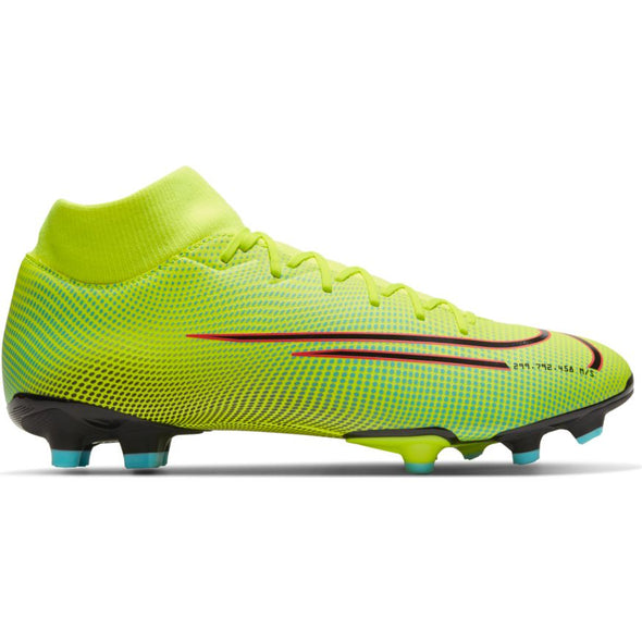 Nike Mercurial Superfly 7 Academy MDS MG (LEMON VENOM/BLACK-AURORA GREEN)