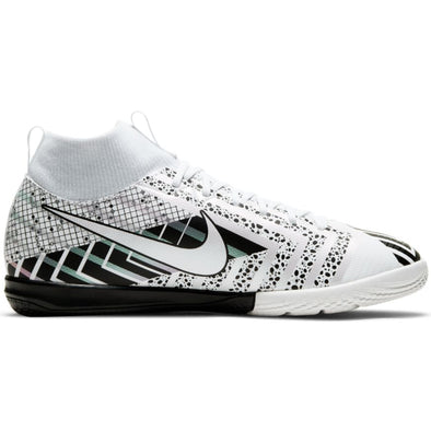 Nike JUNIOR Mercurial Superfly 7 Academy MDS Indoor - White/Black/MetSilver