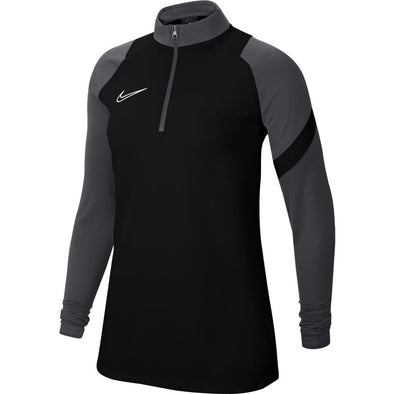 Nike Dry Academy Women's Pro Drill Top- Black/Grey