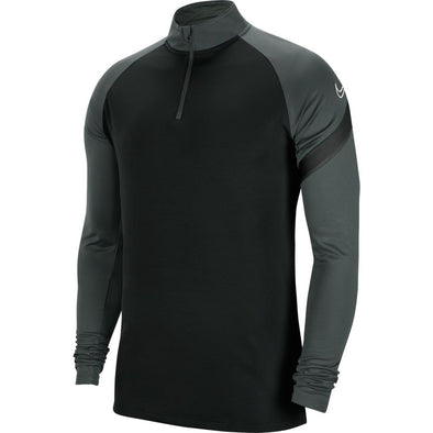 Nike YOUTH Dry Academy Pro Drill Top - Black/Grey