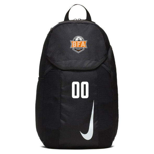 BFA Nike Academy Team Backpack - Black