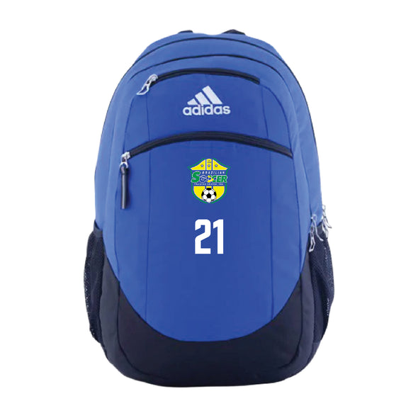 Brazilian Soccer Training adidas Striker Backpack - Royal