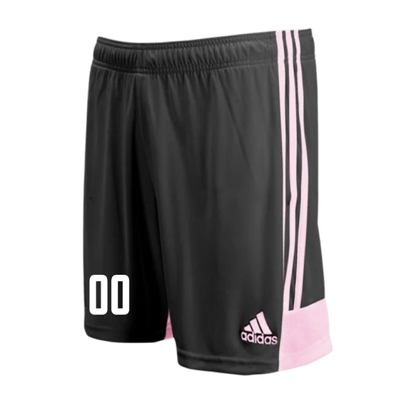 Ironbound SC adidas Tastigo 19 GK Shorts - Black/Pink