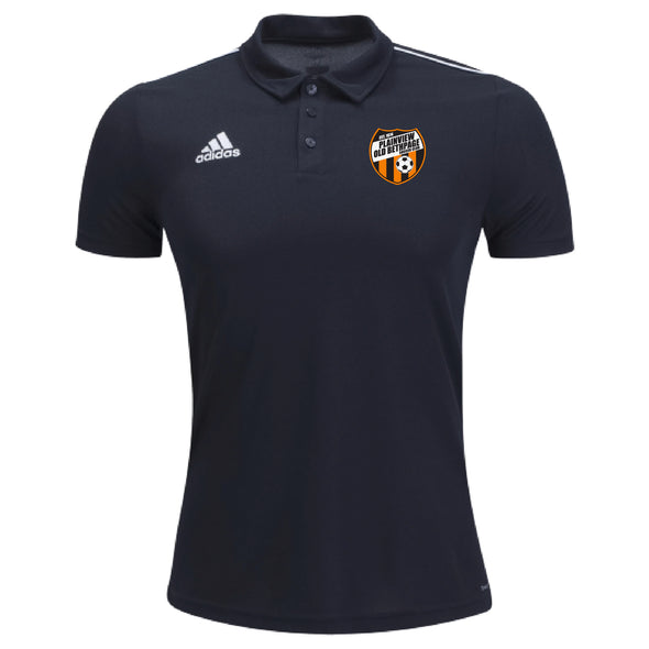 Plainview Old Bethpage U9-U10 adidas Core 18 Polo - Black