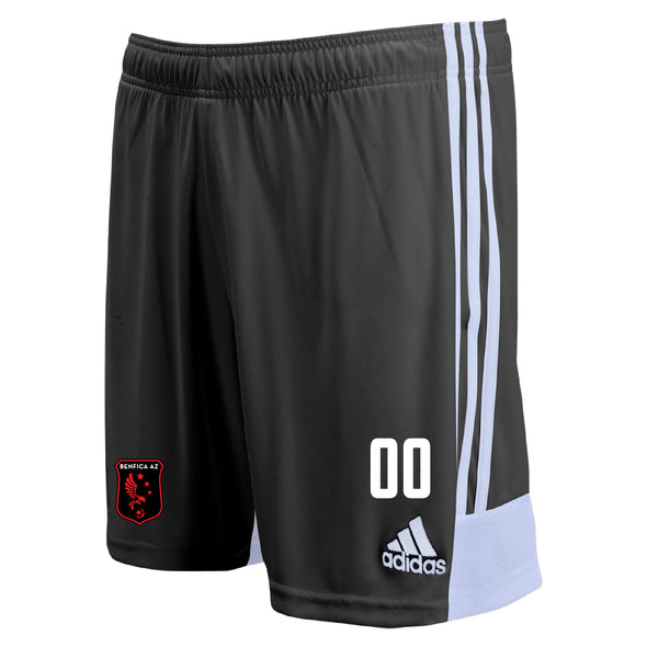 Benfica AZ adidas Tastigo 19 Match/Training Shorts - Black/White
