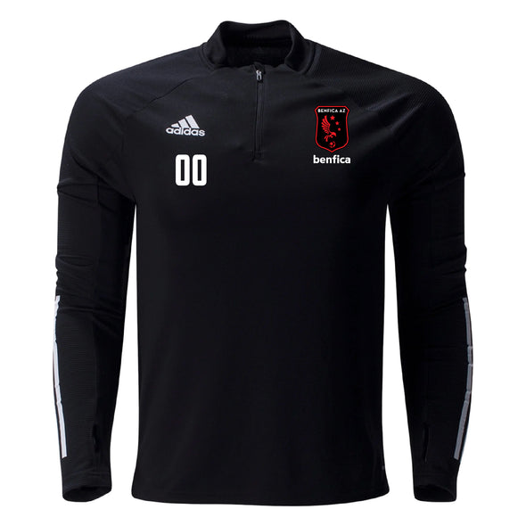 Benfica AZ adidas Condivo 20 Training Top - Black