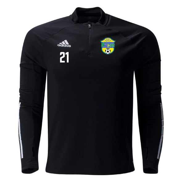 Brazilian Soccer Training adidas Condivo 20 Training Top - Black
