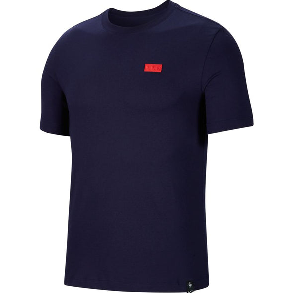 Nike France Navy Voice T-Shirt  - MENS