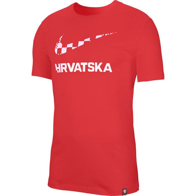 Nike Croatia Red Training Ground T-Shirt - MENS