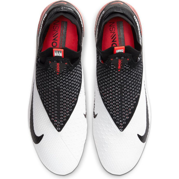 Nike Phantom Vision 2 Elite Dynamic Fit FG (WHITE/BLACK-LASER CRIMSON)