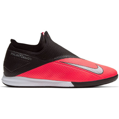 Nike Phantom Vision 2 Academy Dynamic Fit IC (LASER CRIMSON/METALLIC SILVER-BLACK)