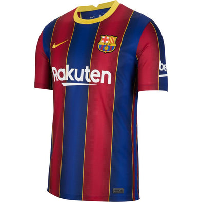 Nike 2020-21 FC Barcelona Home Jersey - Men's