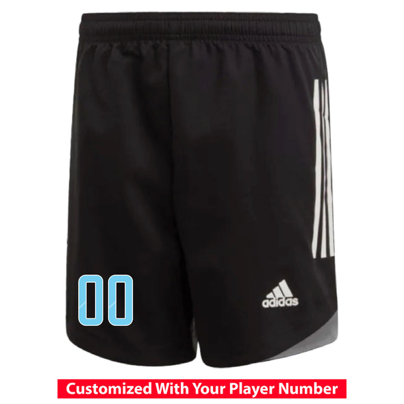 Weston FC Boys Premier adidas Condivo 20 Black Match And Practice Shorts