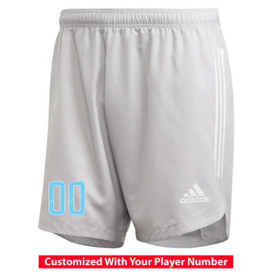 Weston FC Boys Premier adidas Condivo 20 Grey Match Shorts
