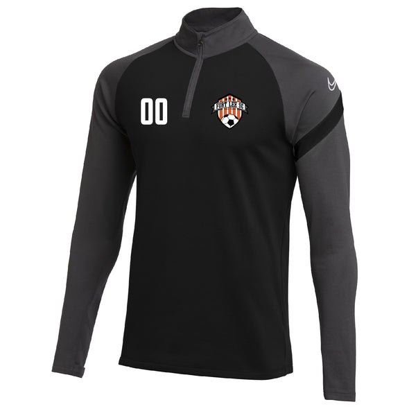 Fort Lee Nike Dry Academy Pro Drill Top Black/Grey