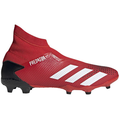 adidas Predator 20.3 Laceless FG Red/White/Black
