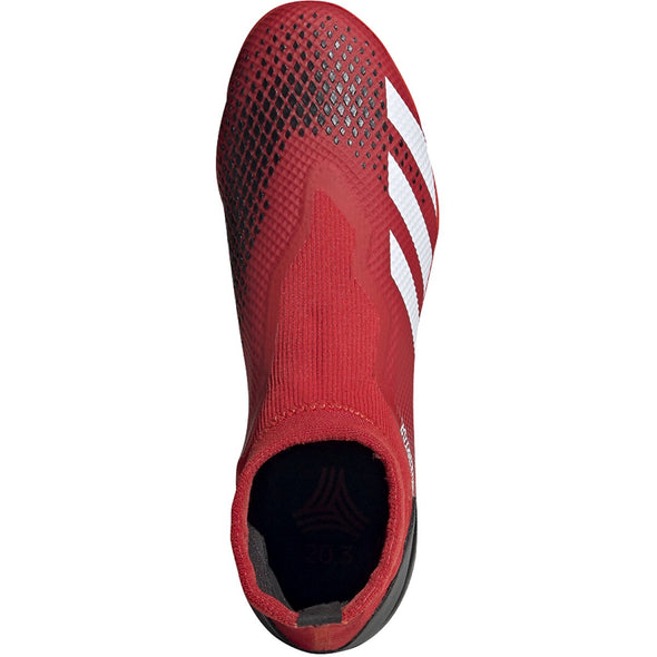 PREDATOR 20.3 Laceless TF Red/White/Black
