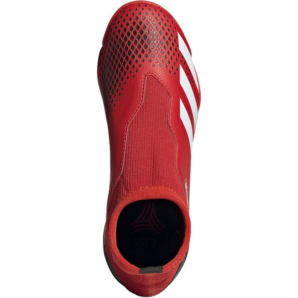 PREDATOR 20.3 Laceless TF JR Red/White/Black