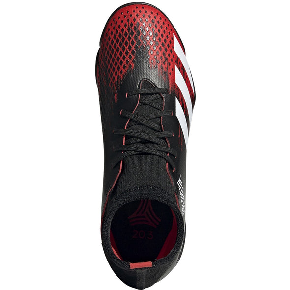 adidas Predator 20.3 JR Turf Black/Active Red