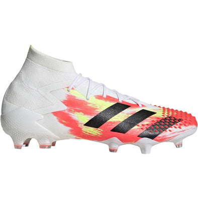 adidas Predator Mutator 20.1 FG- White/Core Black/Pop
